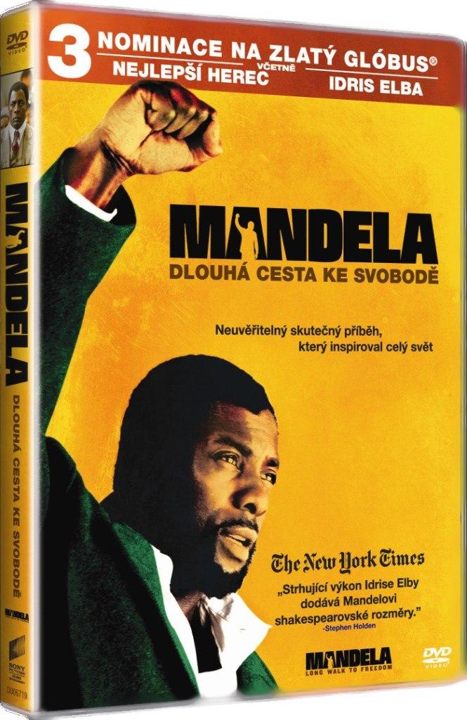 MANDELA: DLOUHÁ CESTA KE SVOBODĚ - DVD