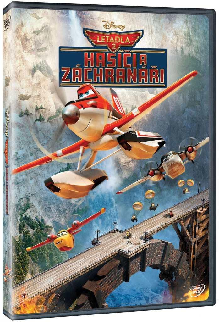 LETADLA 2: HASIČI A ZÁCHRANÁŘI - DVD
