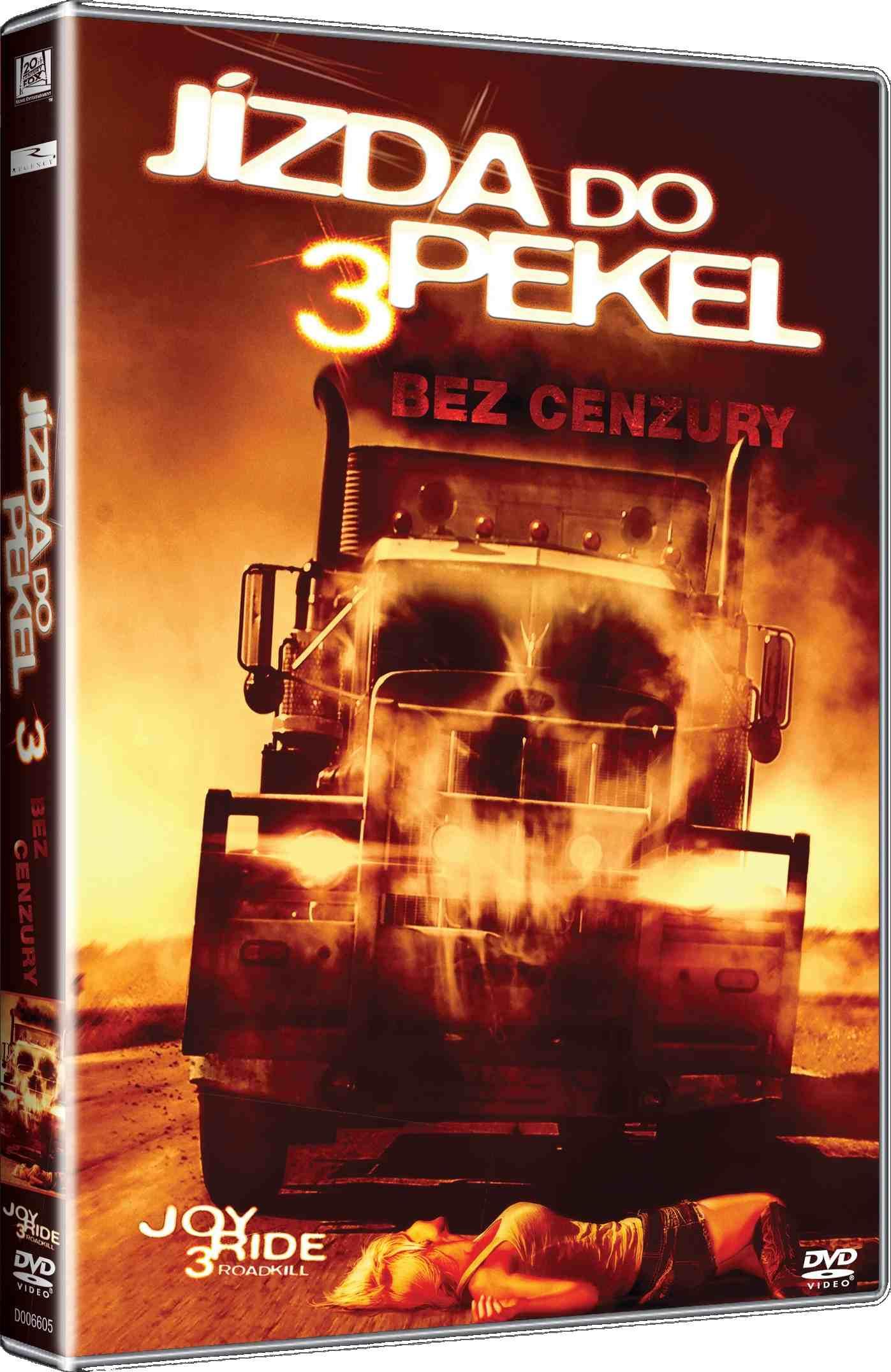 JÍZDA DO PEKEL 3 - DVD