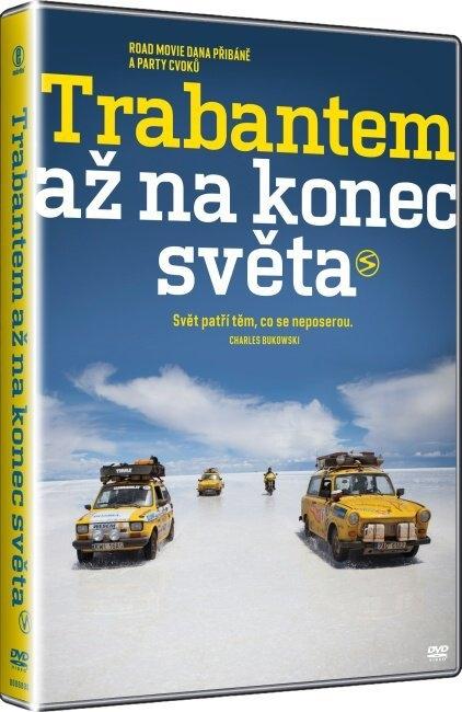 TRABANTEM AŽ NA KONEC SVĚTA - DVD