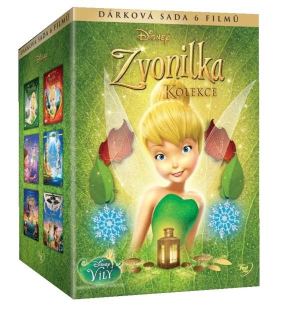 Zvonilka - Kolekce 6 filmů - 6 DVD