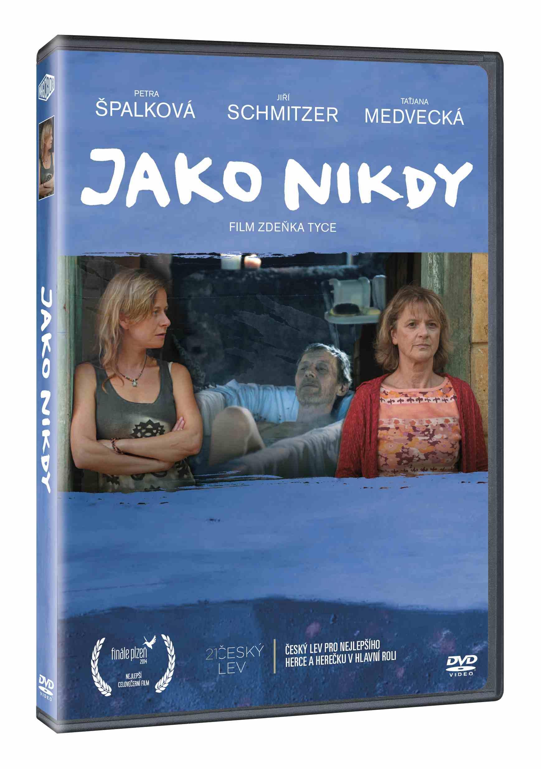 JAKO NIKDY - DVD