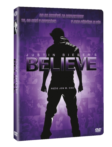 JUSTIN BIEBERS BELIEVE - DVD