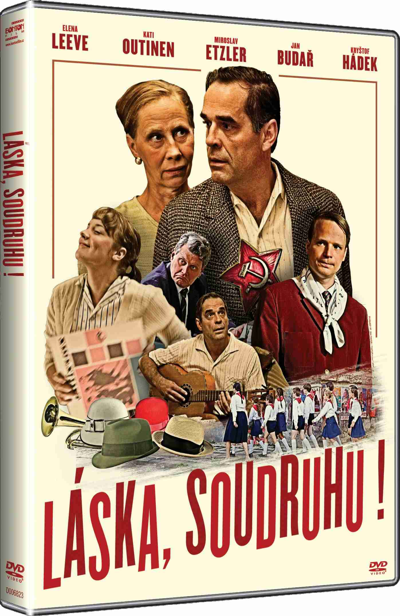 LÁSKA, SOUDRUHU - DVD
