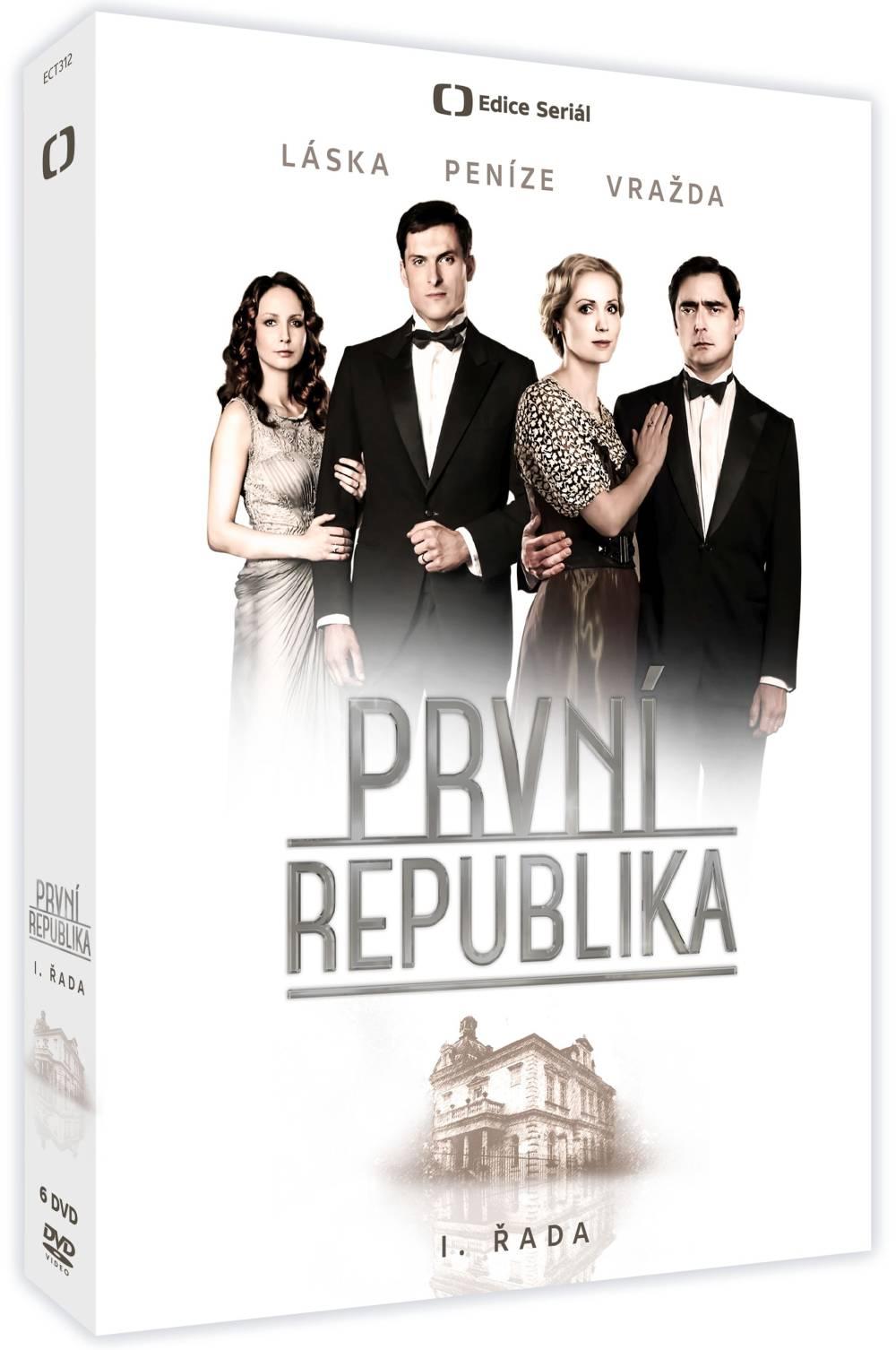 První republika I. řada - DVD