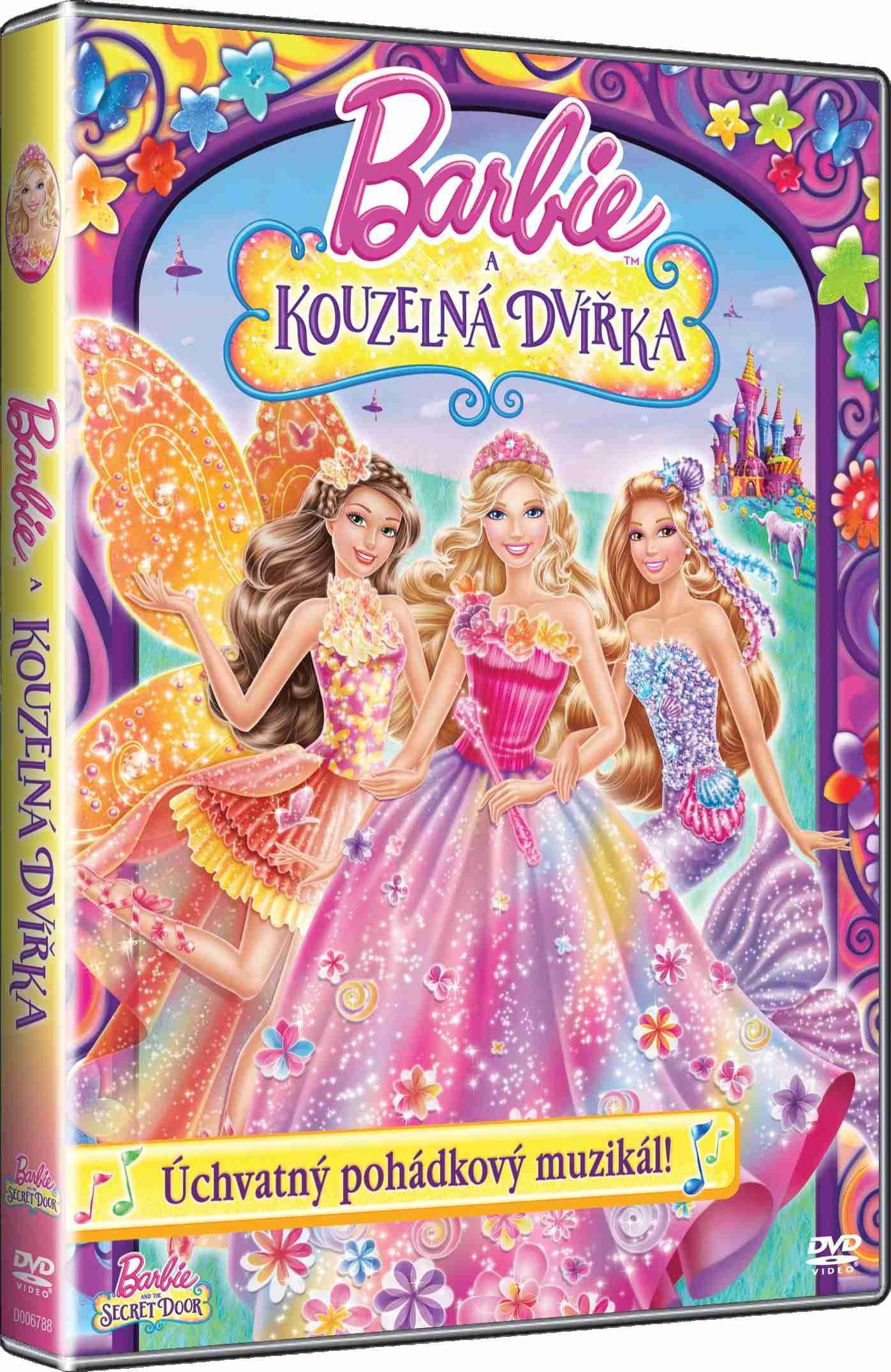 BARBIE A KOUZELNÁ DVÍŘKA - DVD