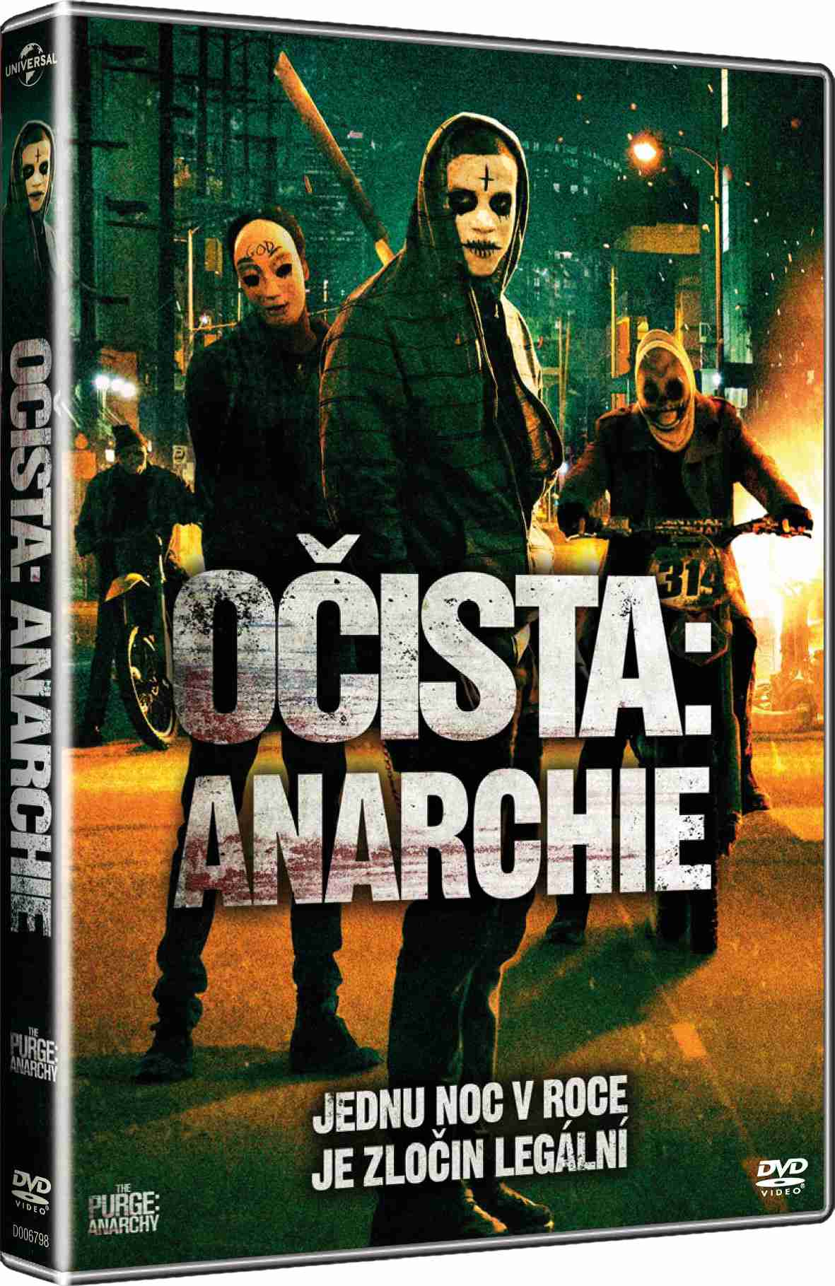 OČISTA: ANARCHIE - DVD