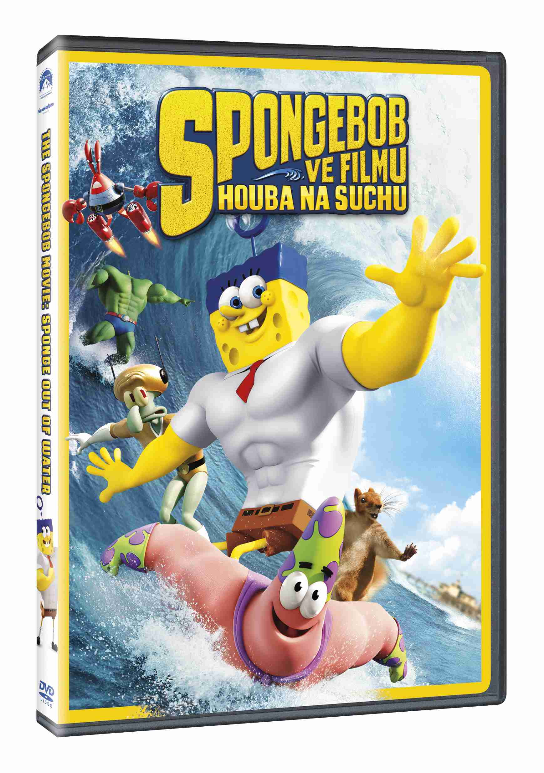 SPONGEBOB VE FILMU: HOUBA NA SUCHU - DVD