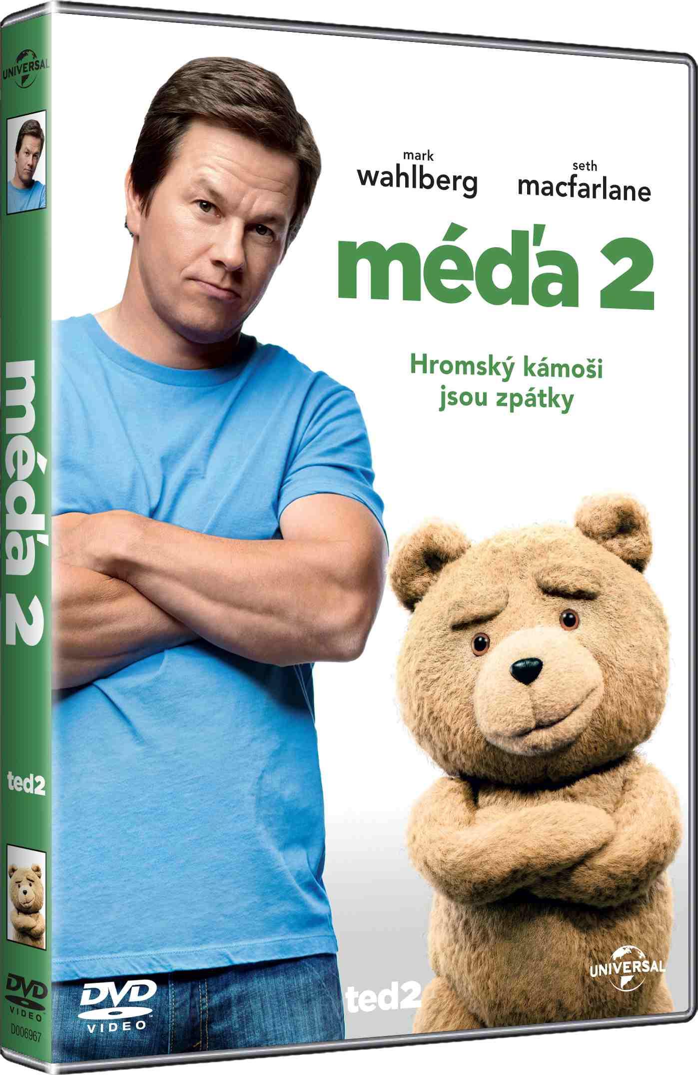 MÉĎA 2 (TED 2) - DVD
