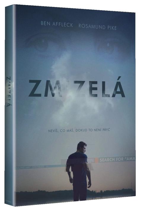 ZMIZELÁ - DVD