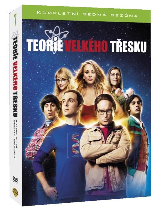 TEORIE VELKÉHO TŘESKU 7. SEZÓNA - 3 DVD