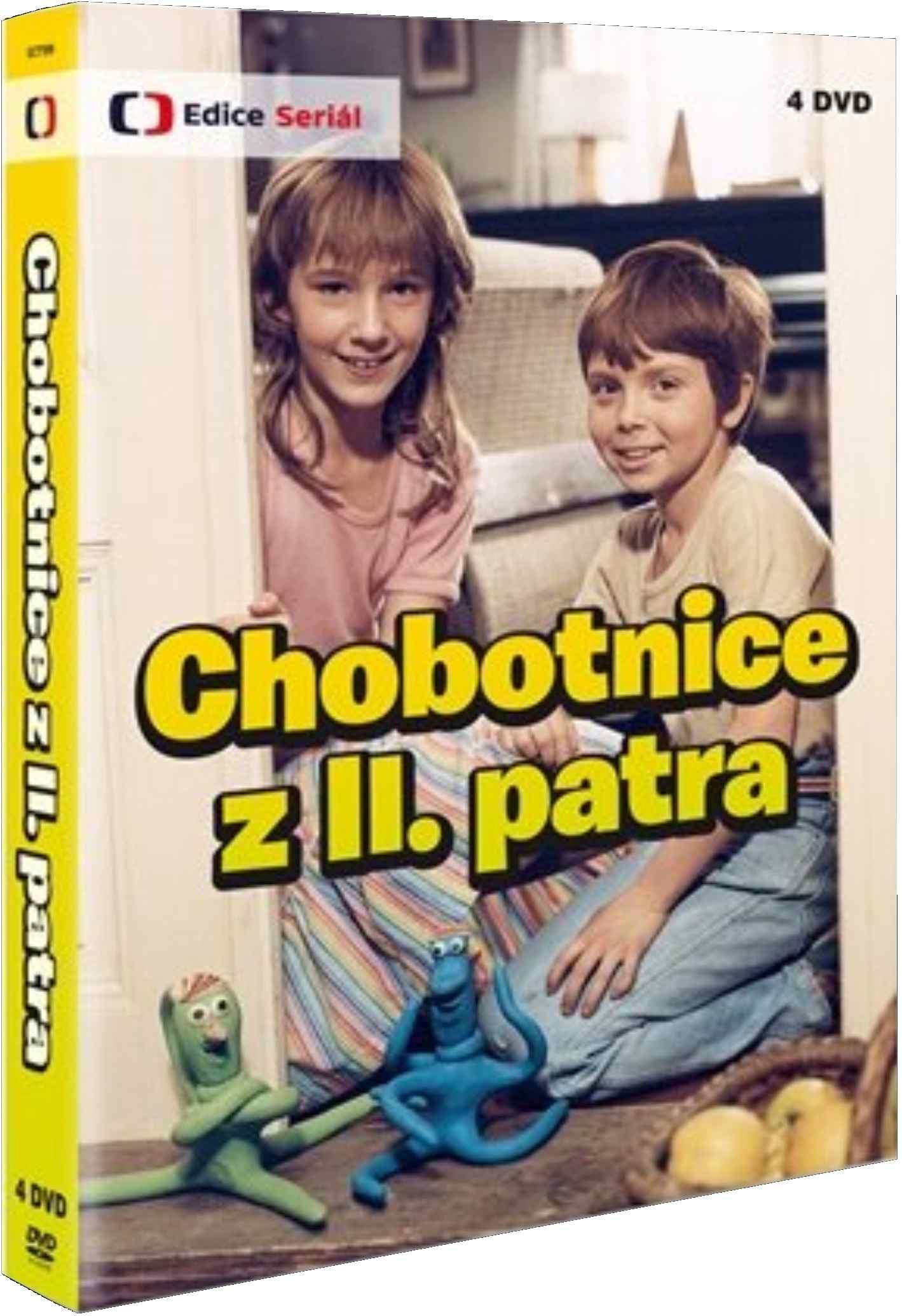 CHOBOTNICE Z 2. PATRA - 4 DVD