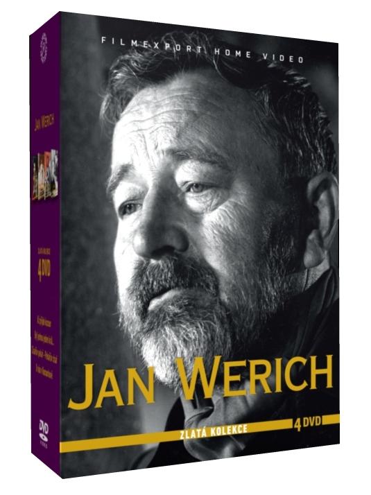 WERICH JAN - ZLATÁ KOLEKCE - 4 DVD