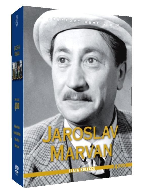MARVAN JAROSLAV - ZLATÁ KOLEKCE - 4 DVD