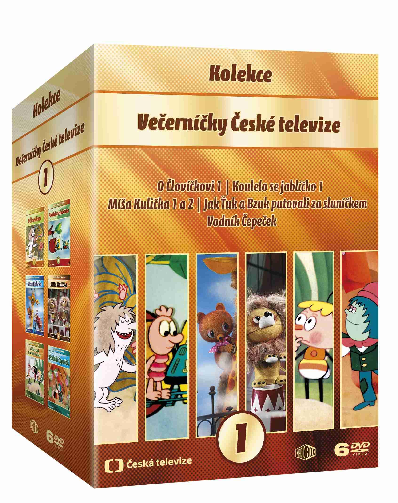 VEČERNÍČKY KOLEKCE - 6 DVD