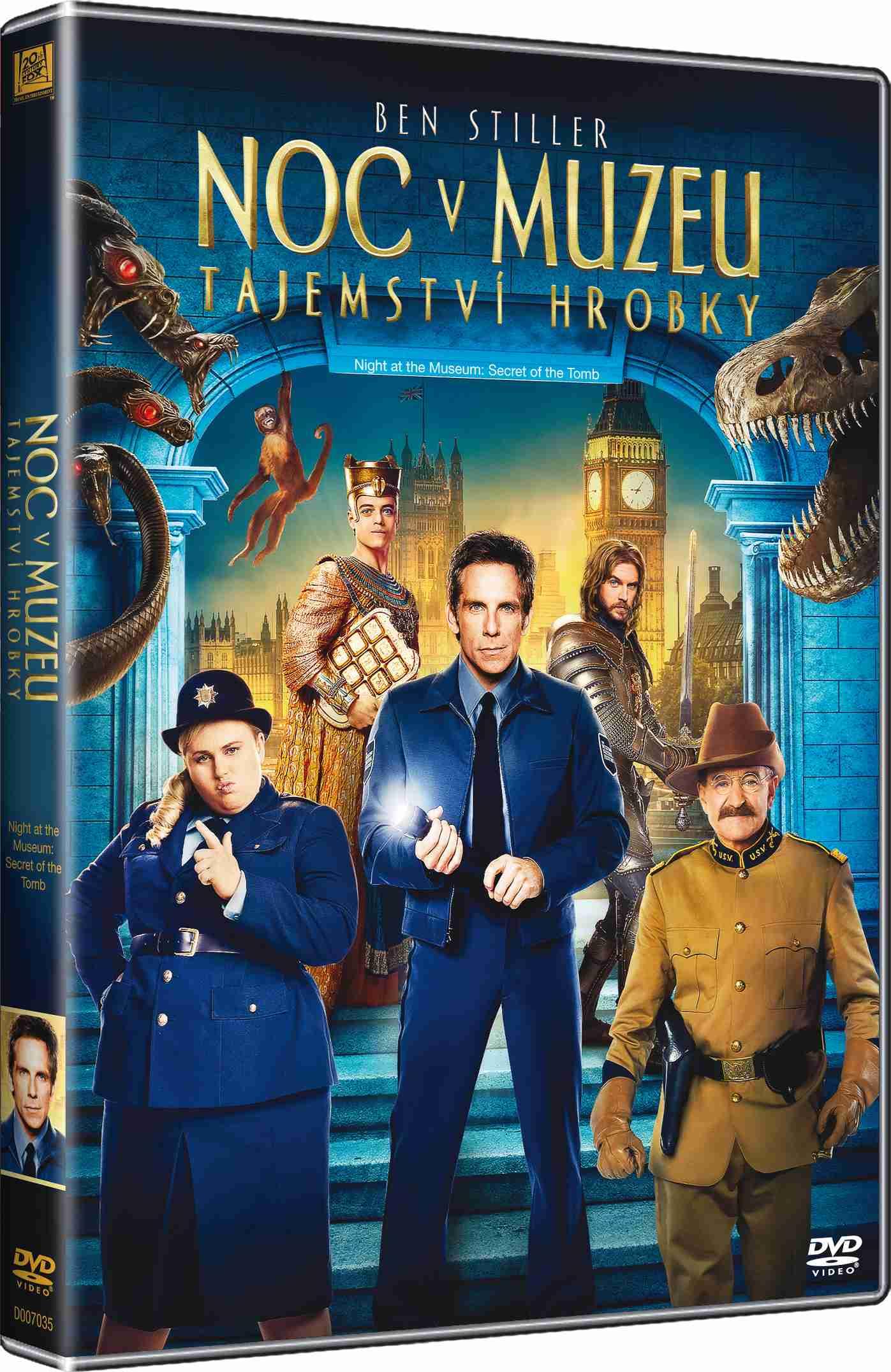 Noc v muzeu 3: Tajemství hrobky - DVD