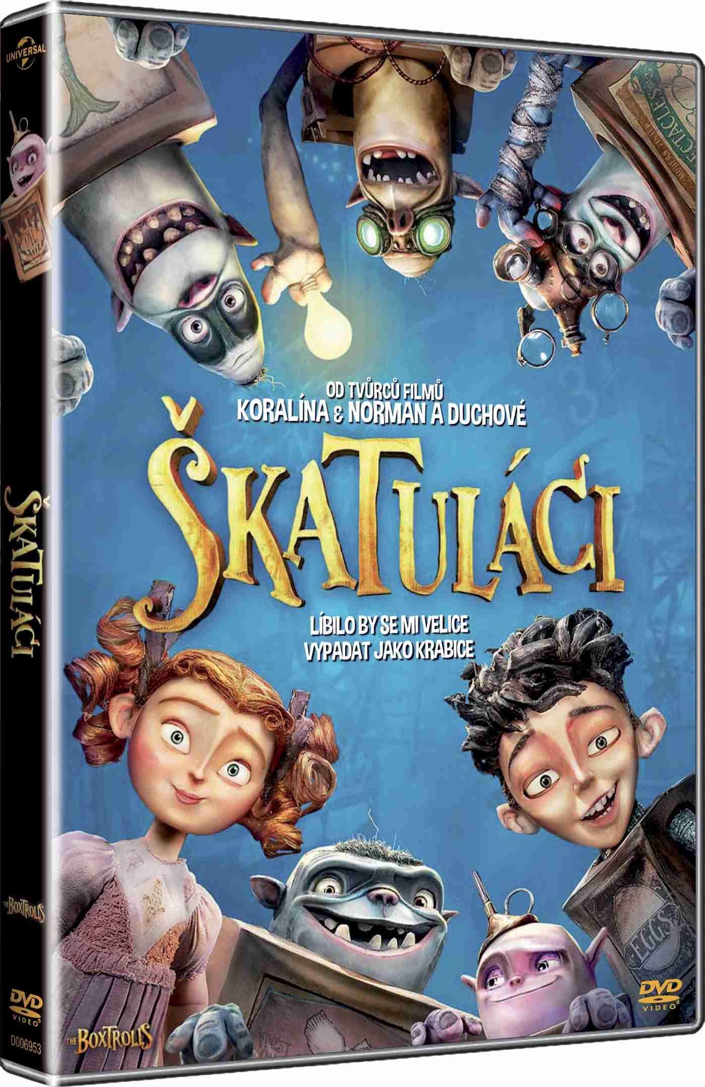 ŠKATULÁCI - DVD