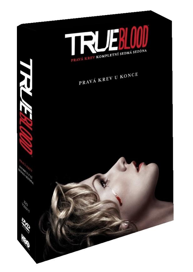 TRUE BLOOD - PRAVÁ KREV 7. SEZONA - DVD