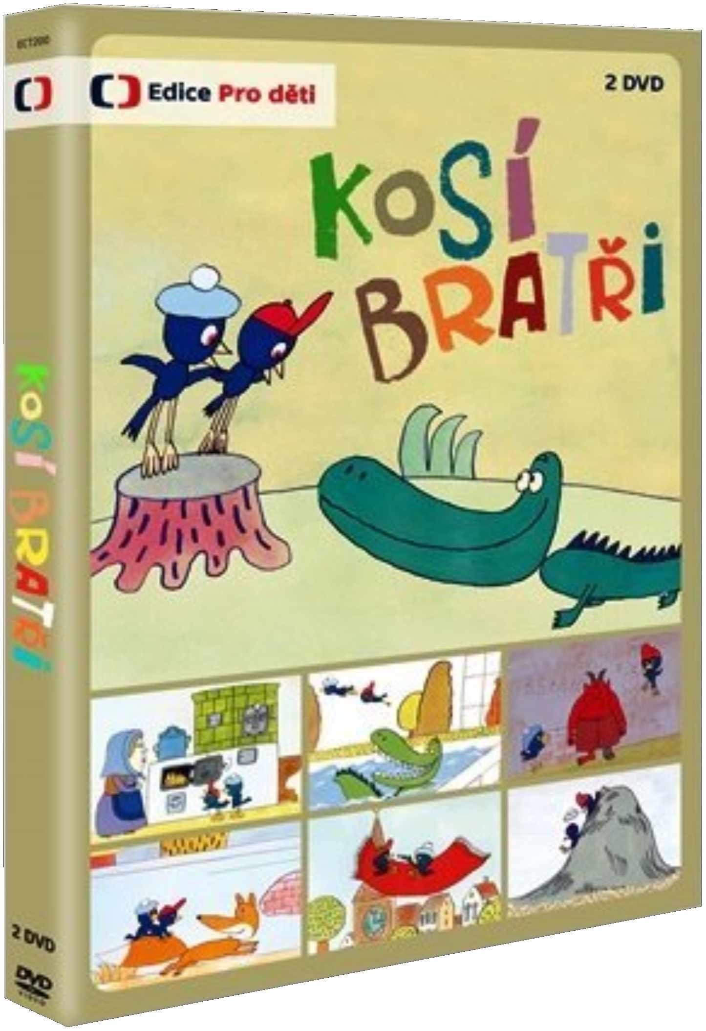 KOSÍ BRATŘI - 2 DVD