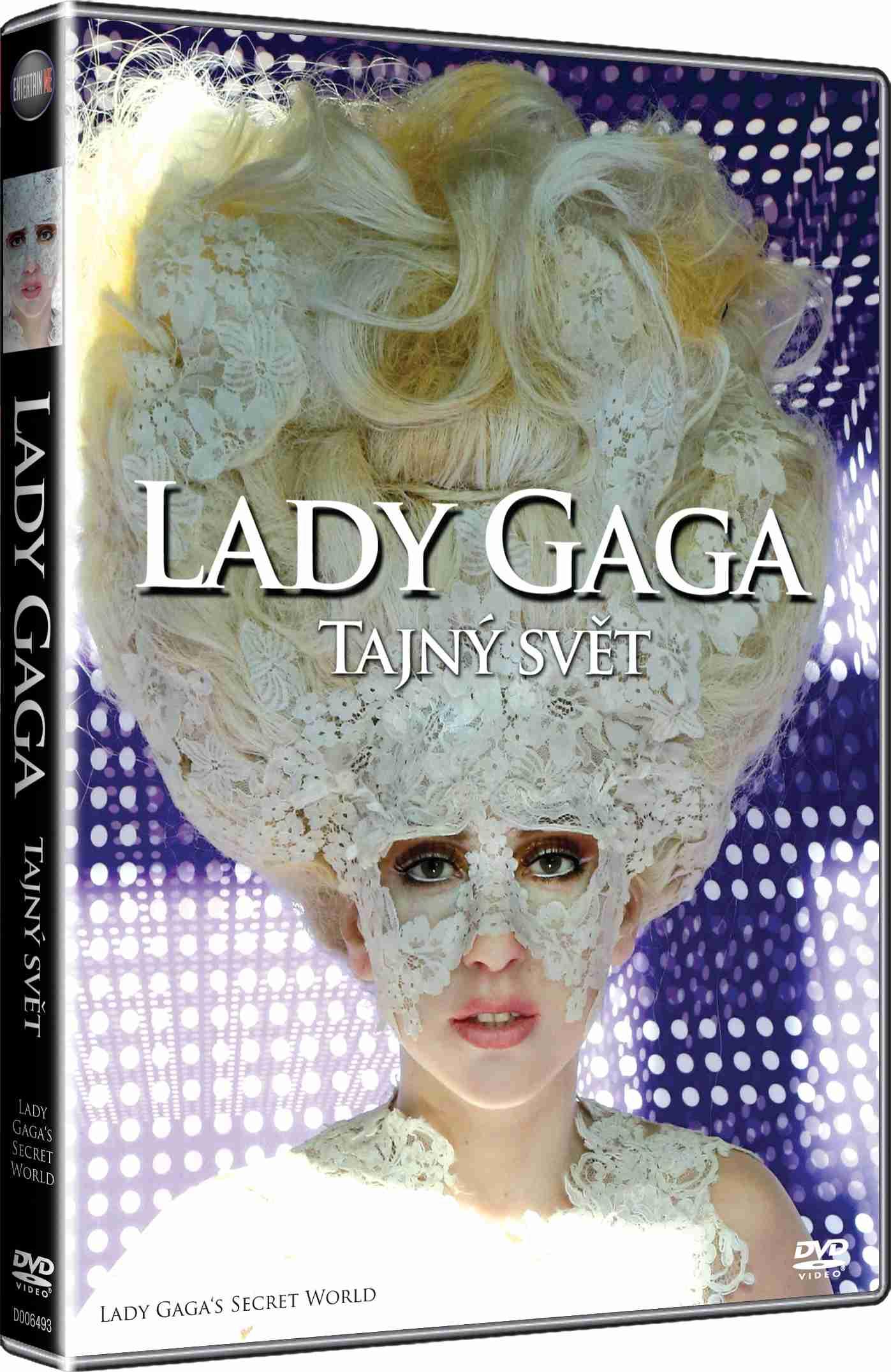 LADY GAGA: TAJNÝ SVĚT - DVD