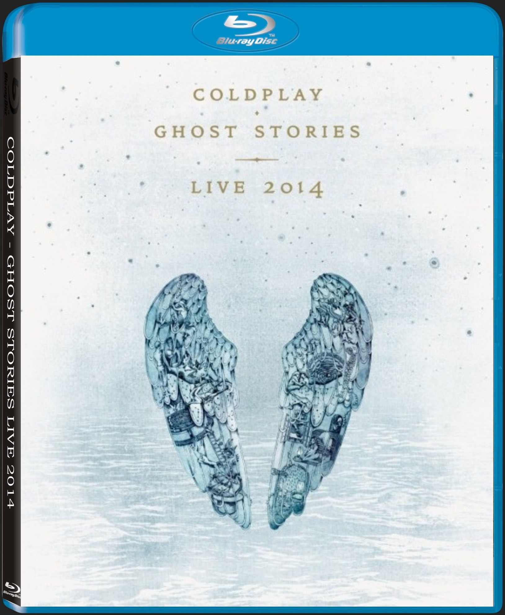 COLDPLAY - GHOST STORIES LIVE 2014 - Blu-ray
