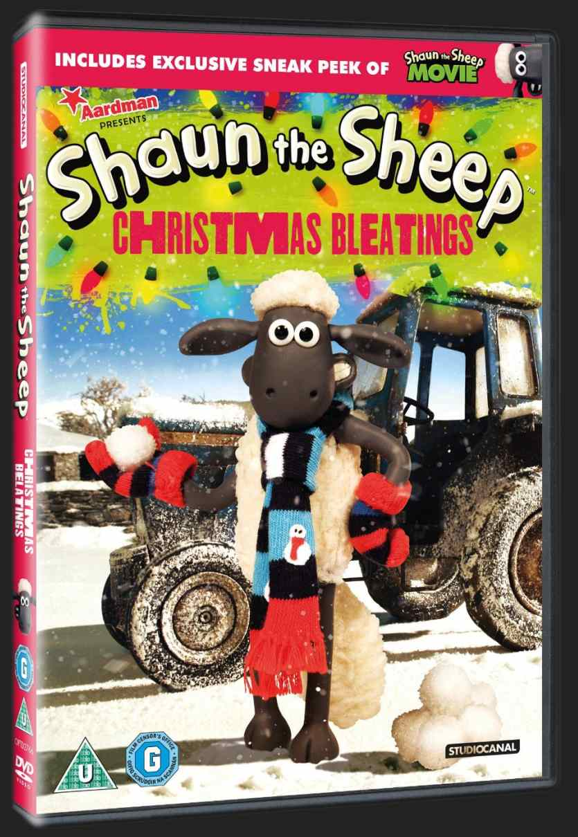 OVEČKA SHAUN - CHRISTMAS BLEATINGS - DVD