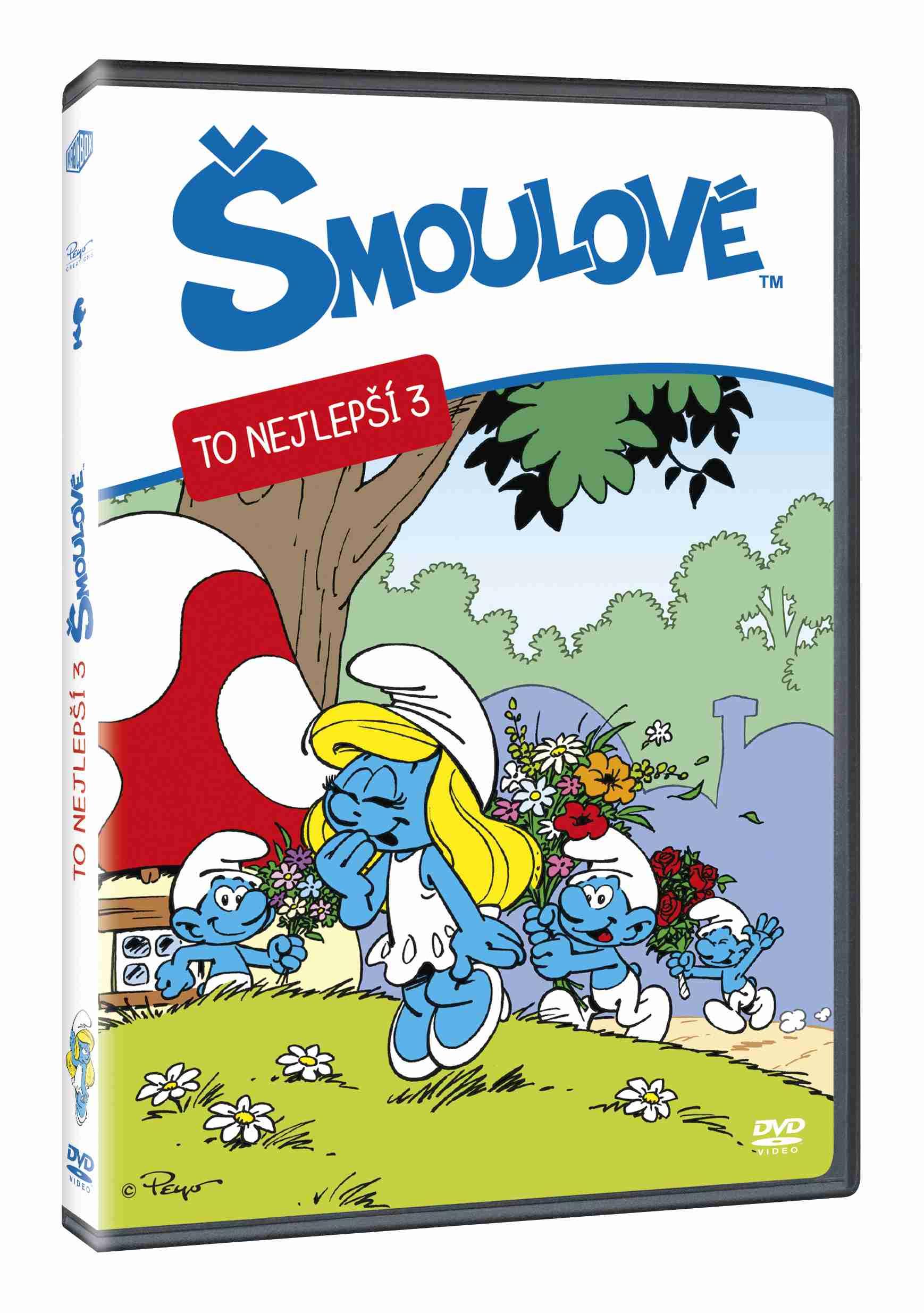ŠMOULOVÉ - TO NEJLEPŠÍ 3 - DVD