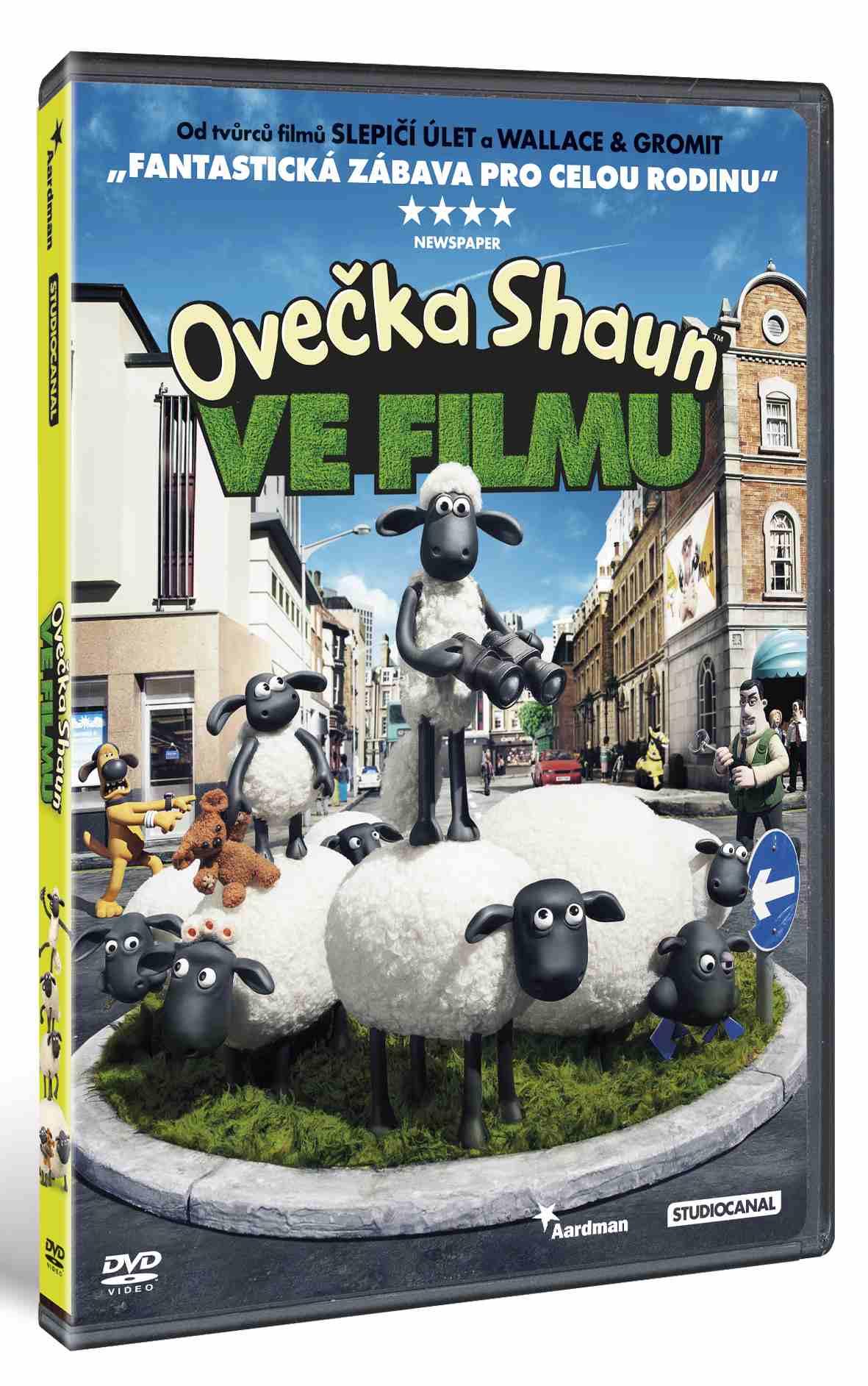 OVEČKA SHAUN VE FILMU (2015) - DVD