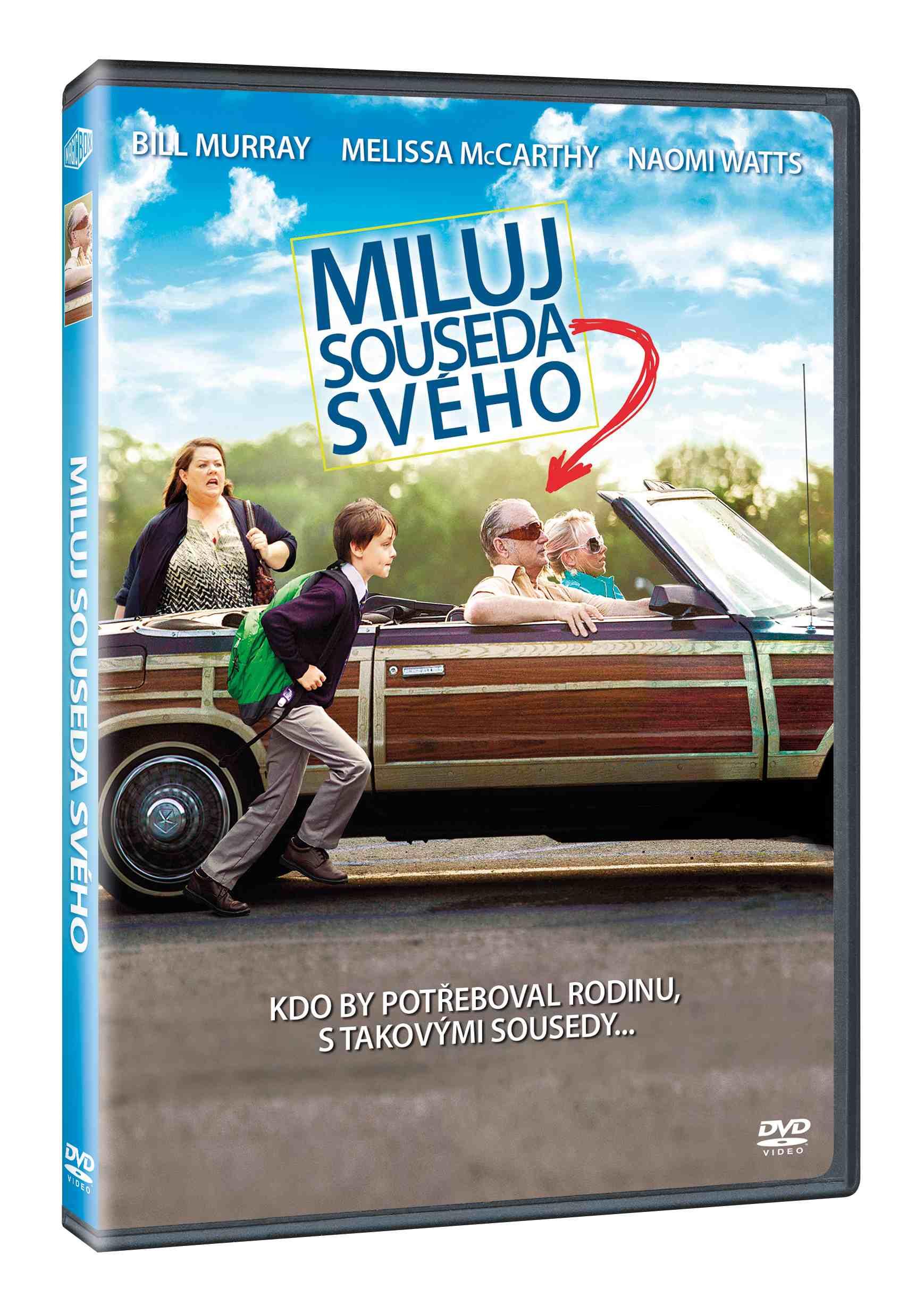 MILUJ SOUSEDA SVÉHO - DVD