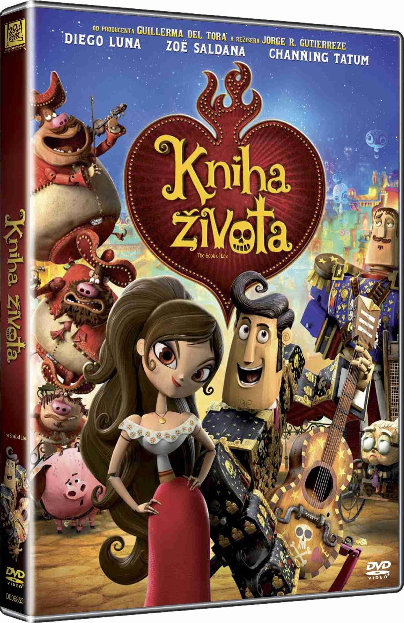 KNIHA ŽIVOTA - DVD