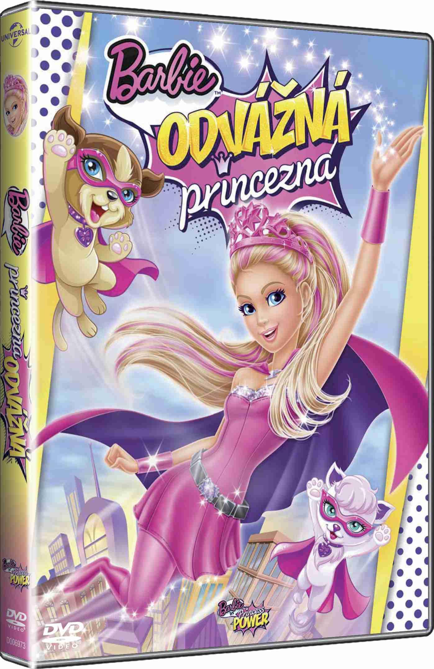 Barbie - Odvážná princezna - DVD
