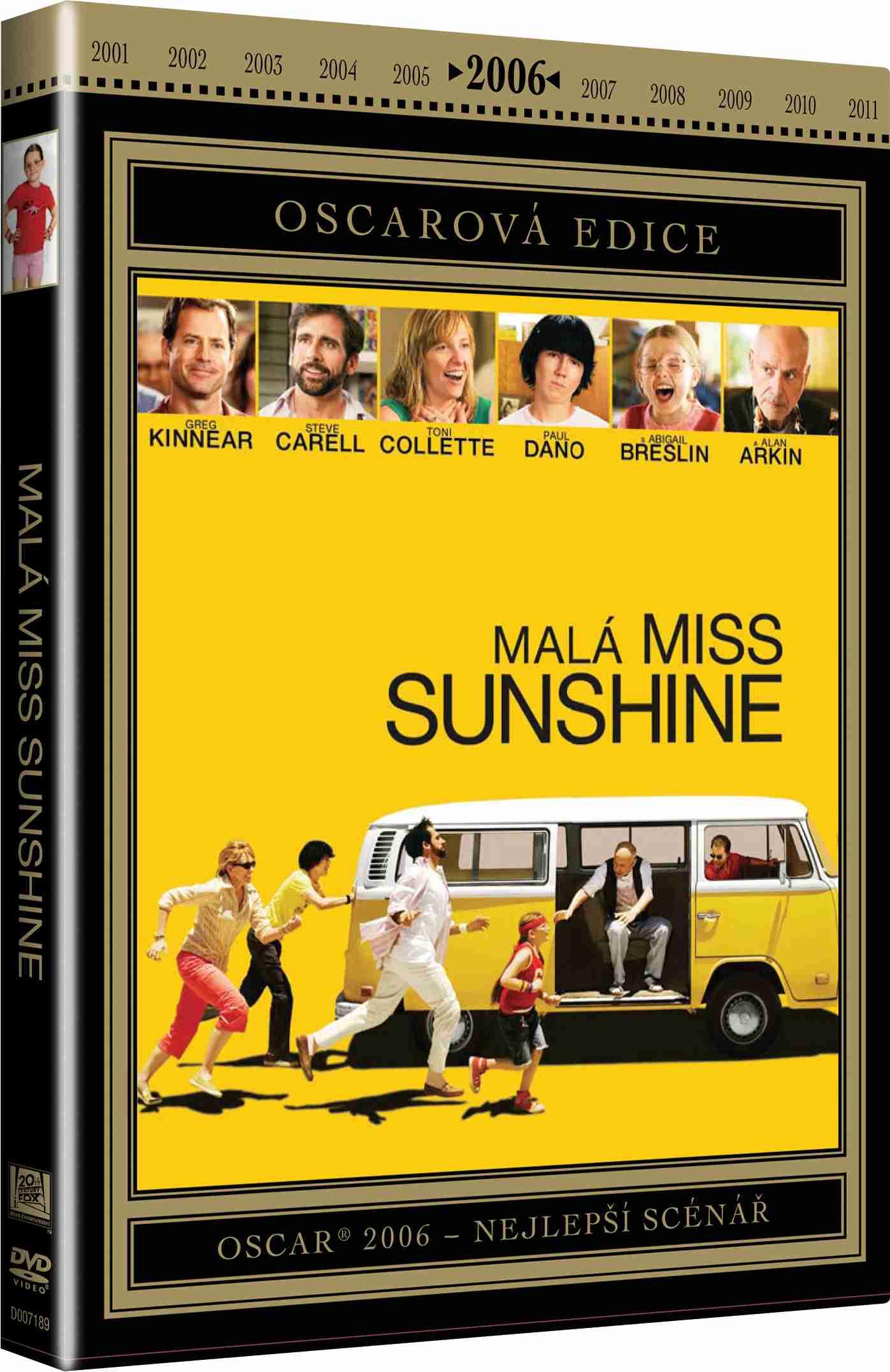 MALÁ MISS SUNSHINE (Oscarová edice) - DVD
