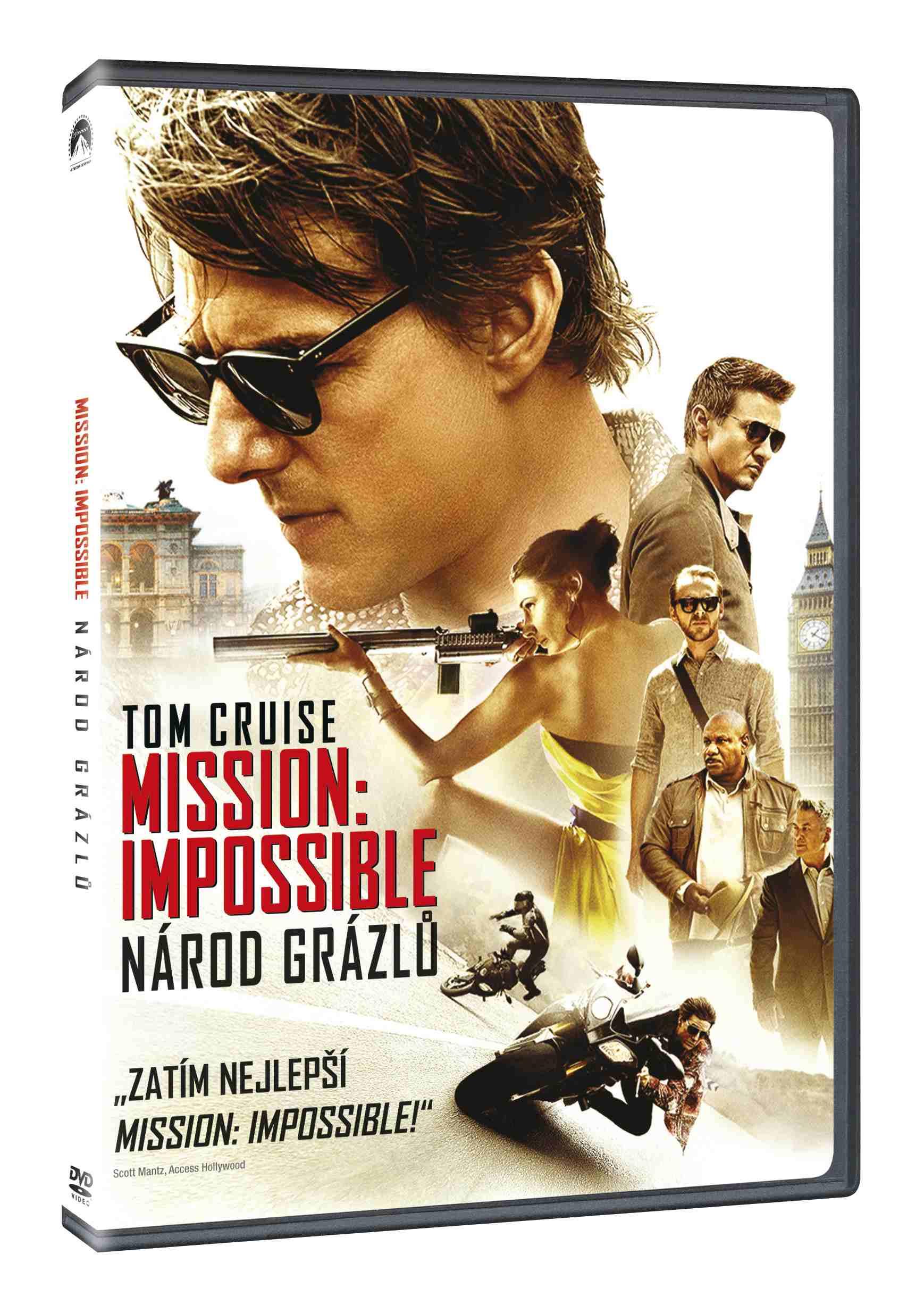 MISSION: IMPOSSIBLE 5 - NÁROD GRÁZLŮ - DVD