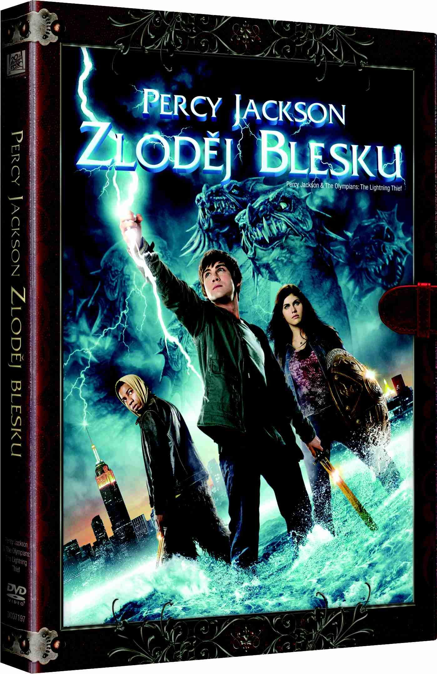 PERCY JACKSON: ZLODĚJ BLESKU (Knižní edice) - DVD