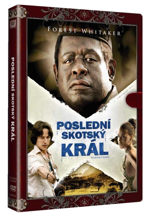 POSLEDNÍ SKOTSKÝ KRÁL (Knižní edice) - DVD