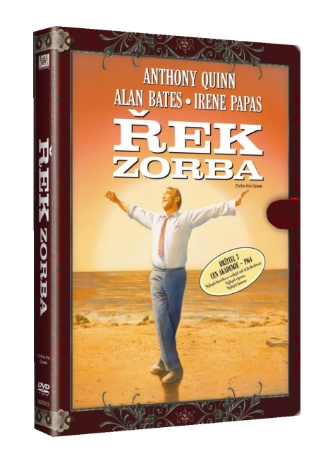 ŘEK ZORBA (Knižní edice) - DVD