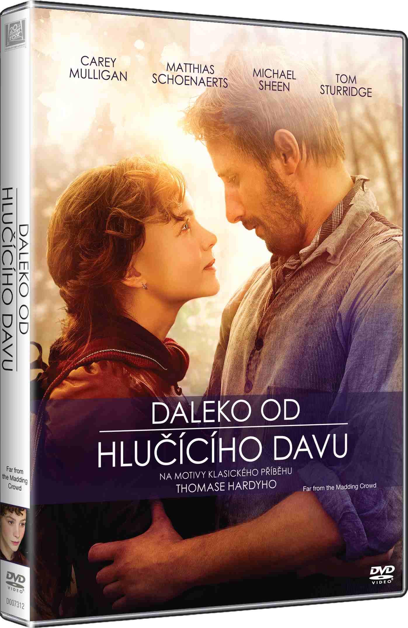 DALEKO OD HLUČÍCÍHO DAVU - DVD