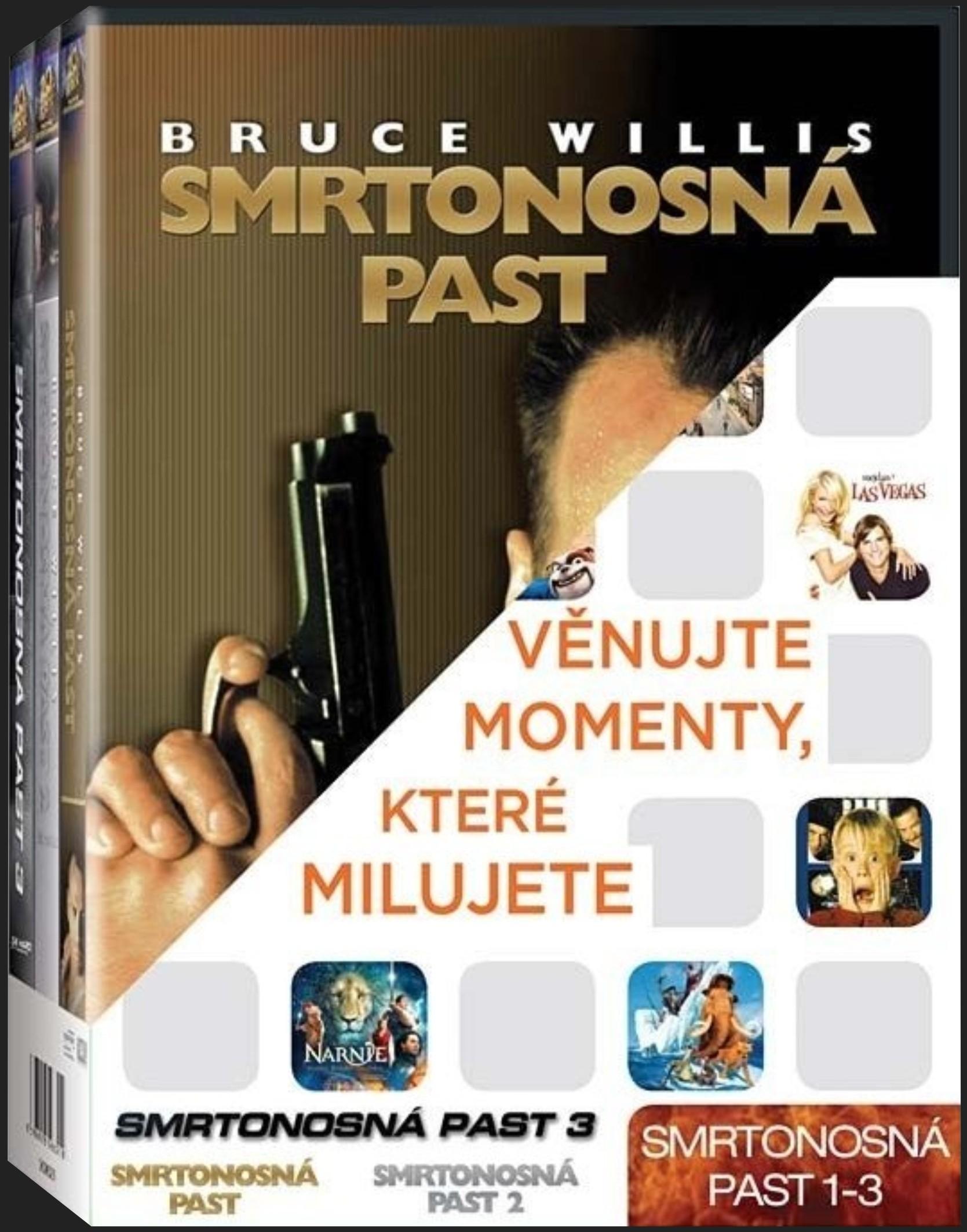 SMRTONOSNÁ PAST 1-3 KOLEKCE - 3 DVD
