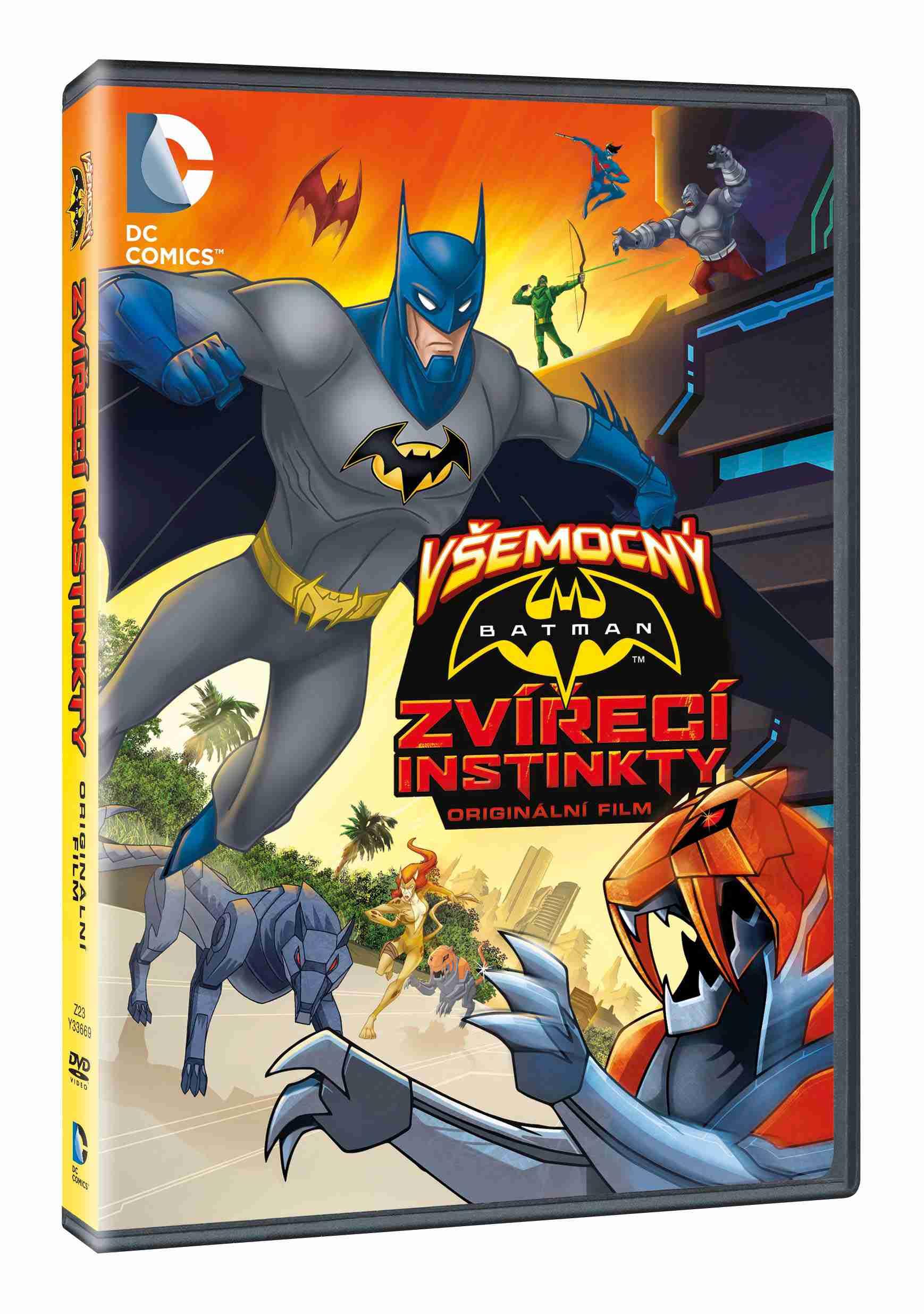 VŠEMOCNÝ BATMAN: ZVÍŘECÍ INSTINKTY - DVD