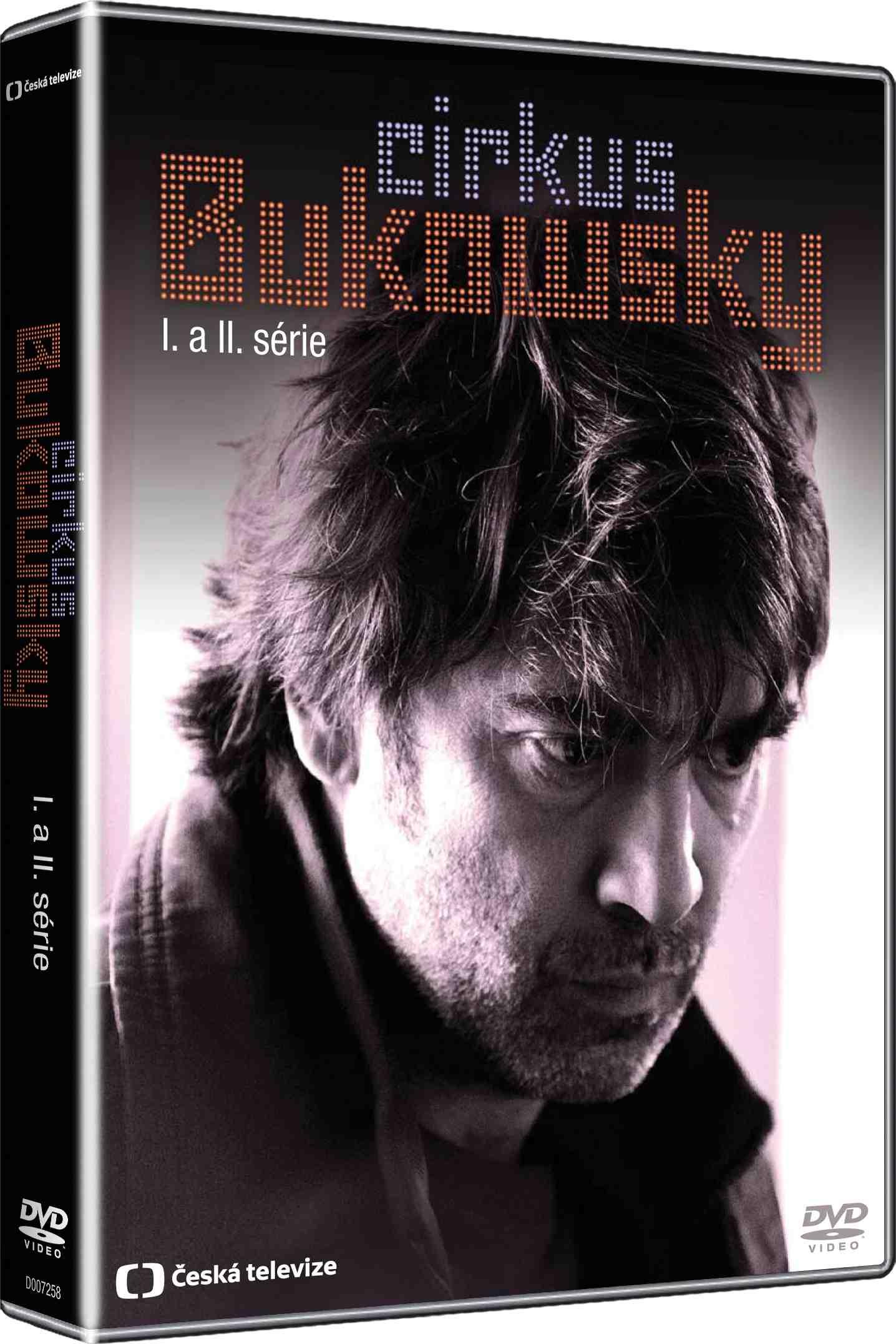 CIRKUS BUKOWSKY (Kompletní 1. a 2. série) - 4 DVD