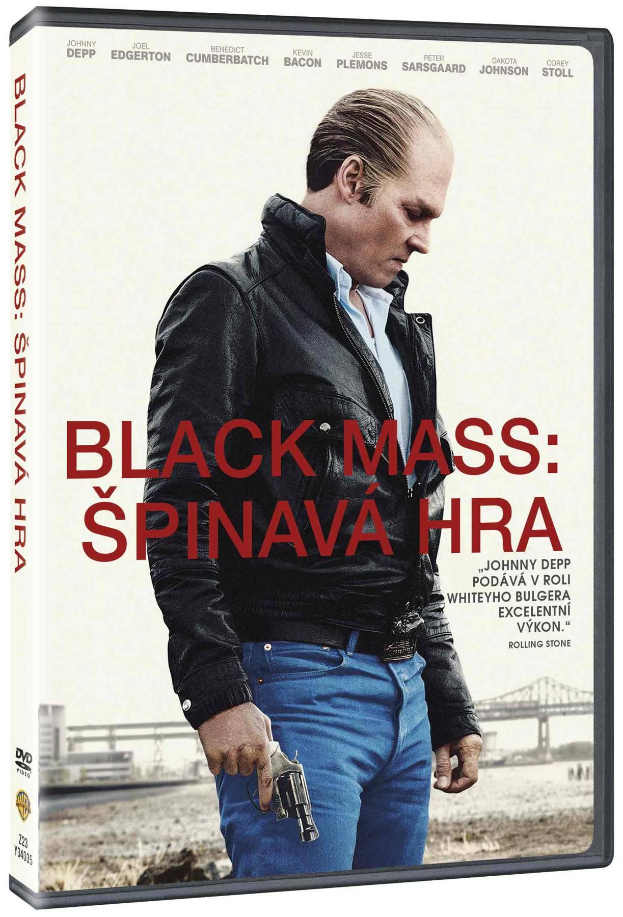Black Mass: Špinavá hra - DVD