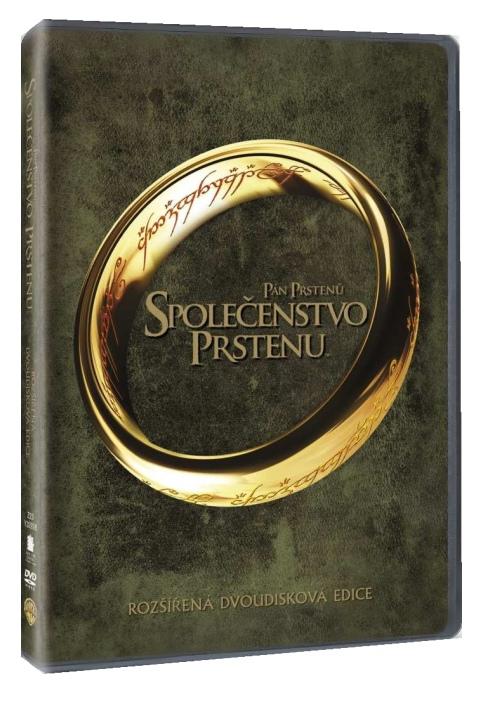 PÁN PRSTENŮ: SPOLEČENSTVO PRSTENU (Rozšířená edice) - 2 DVD