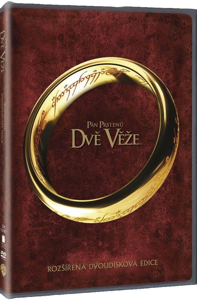Pán prstenů: Dvě věže (Rozšířená edice) - 2 DVD