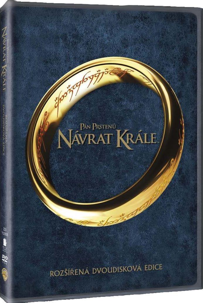 PÁN PRSTENŮ: NÁVRAT KRÁLE (Rozšířená edice) - 2 DVD