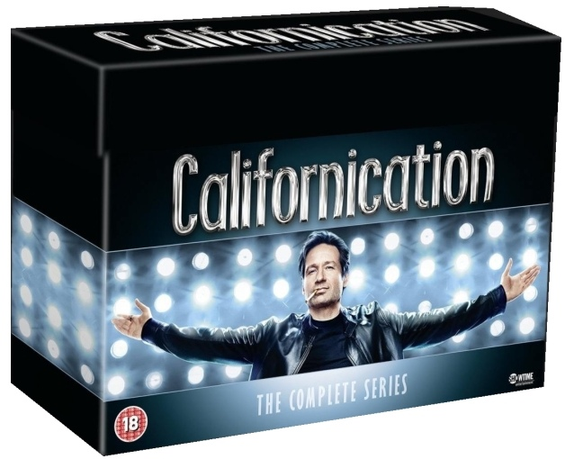 CALIFORNICATION 1. - 7. SÉRIE - KOLEKCE - 15 DVD