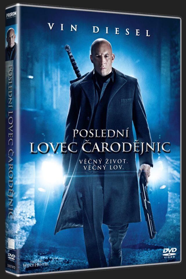POSLEDNÍ LOVEC ČARODĚJNIC - DVD