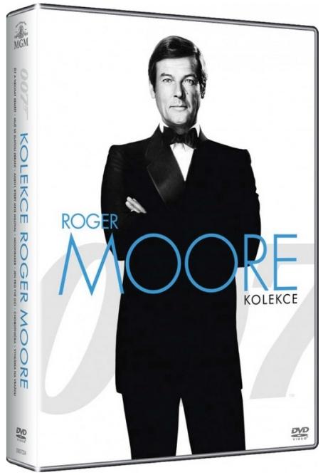 JAMES BOND: ROGER MOORE - KOLEKCE - 7 DVD