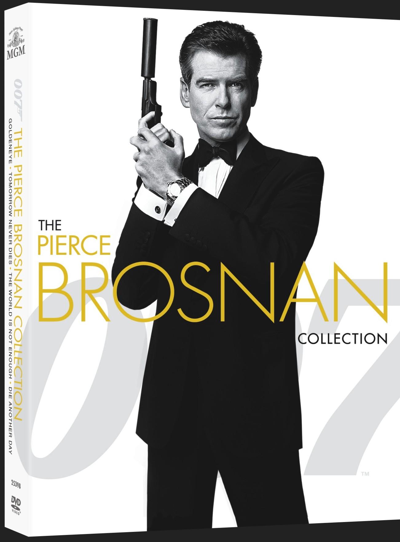 JAMES BOND: PIERCE BROSNAN - KOLEKCE - 4 DVD