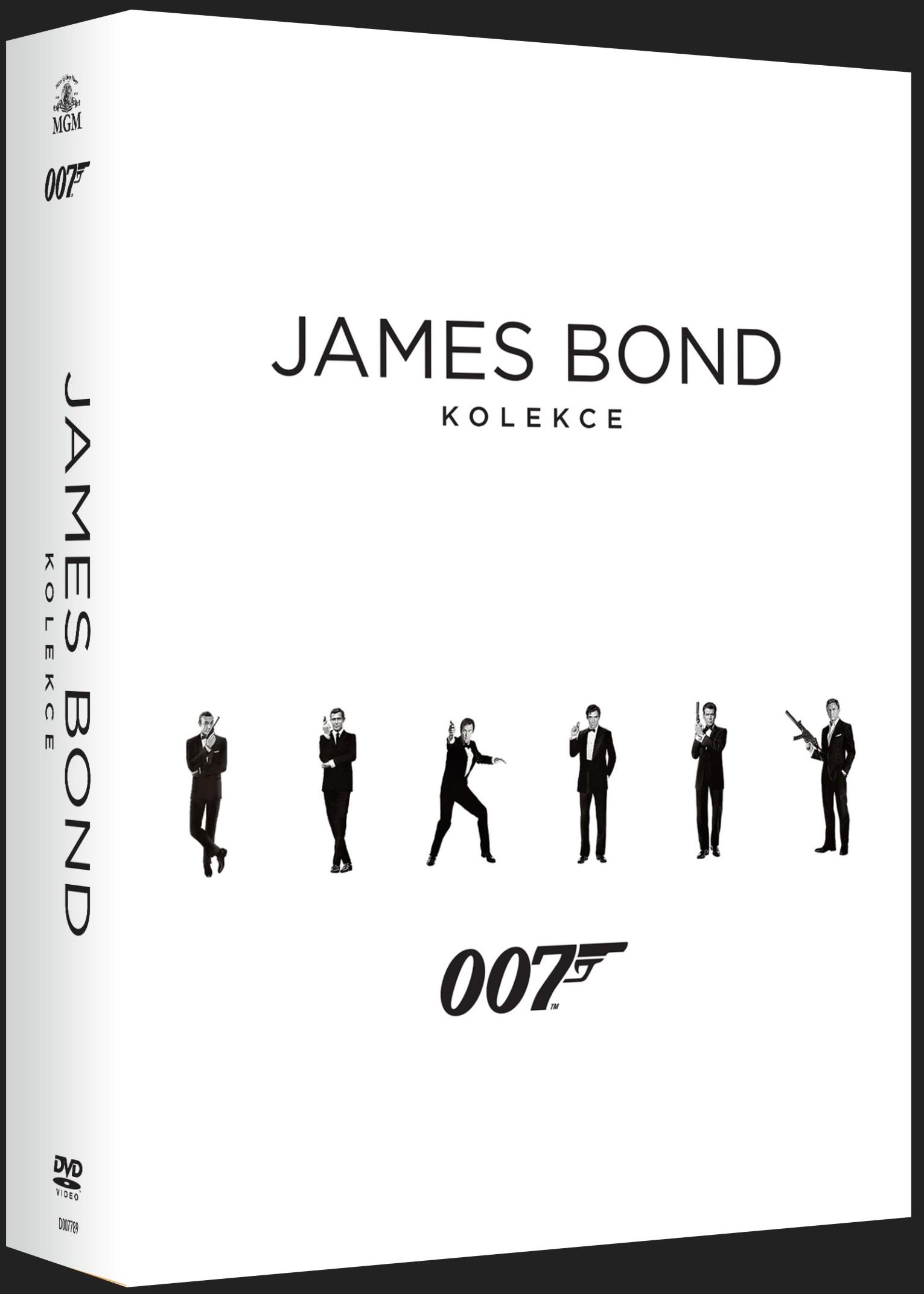 JAMES BOND - KOLEKCE (2016) - 24 DVD