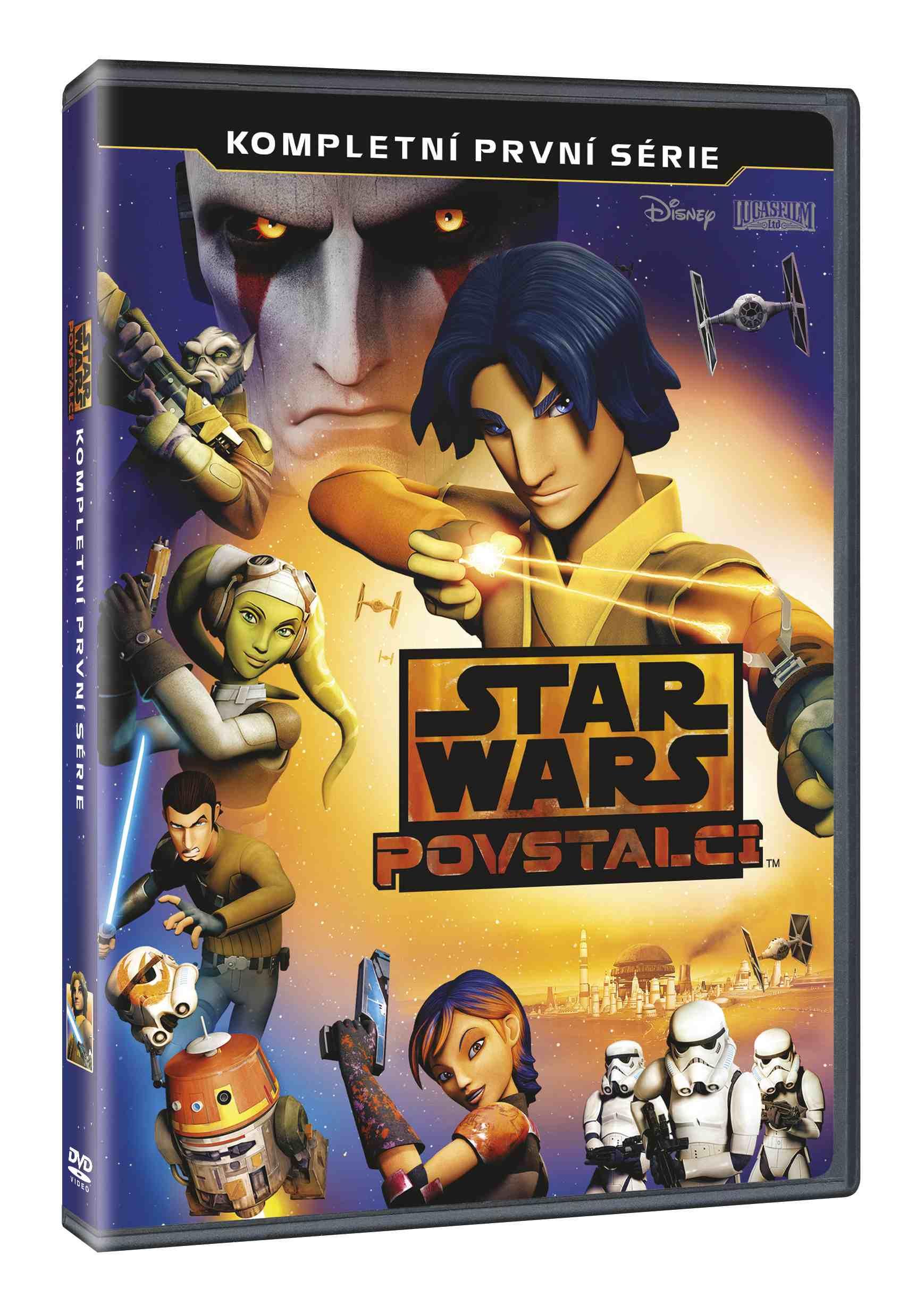 STAR WARS: POVSTALCI 1. SÉRIE - 3 DVD